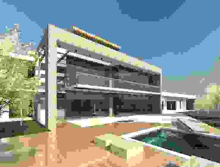 Modern House in Secunda /2 Modern houses by Essar Design Modern