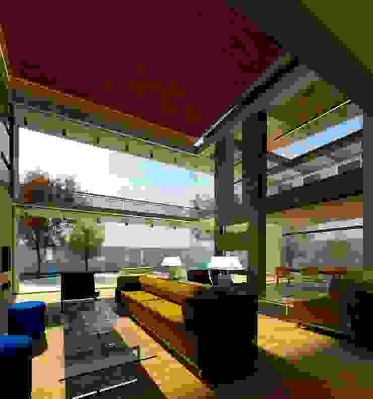 Modern House in Secunda /3 Essar Design Modern living room