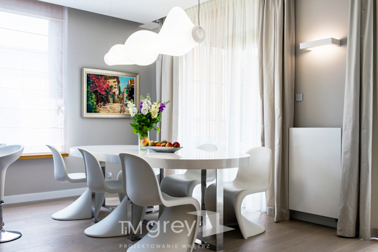 TiM Grey Interior Design Modern dining room