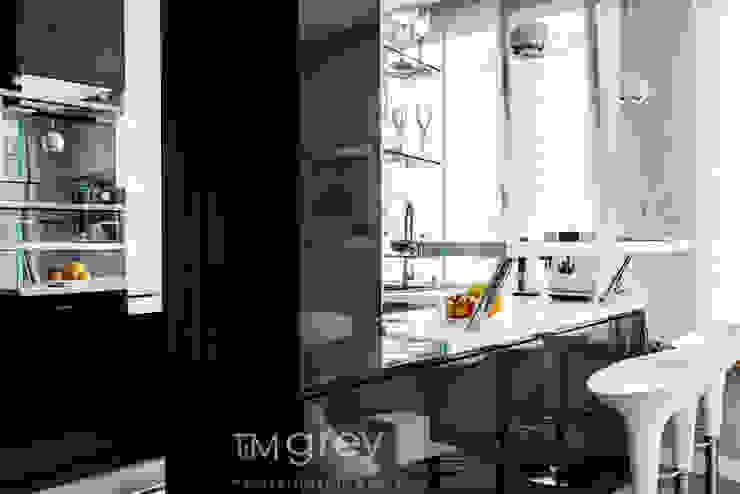TiM Grey Interior Design Modern kitchen