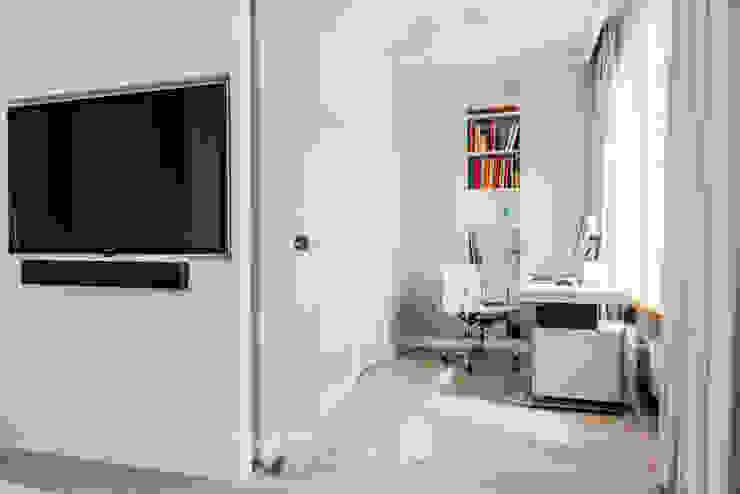 TiM Grey Interior Design Modern study/office