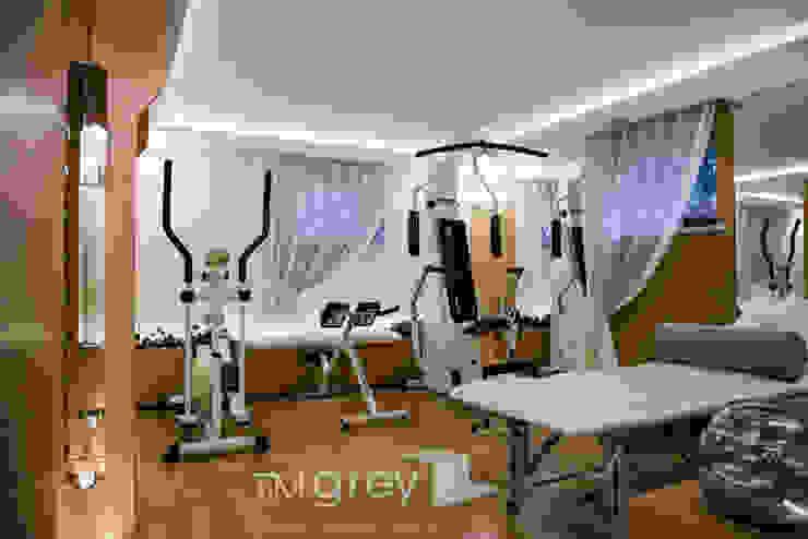 TiM Grey Interior Design Classic style gym