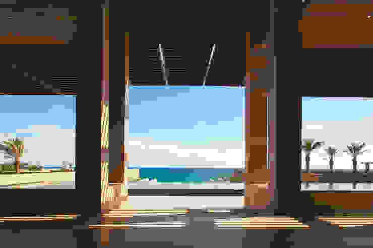 JW Marriott Los Cabos - IDEA Asociados Pasillos, vestíbulos y escaleras modernos de IDEA Asociados Moderno