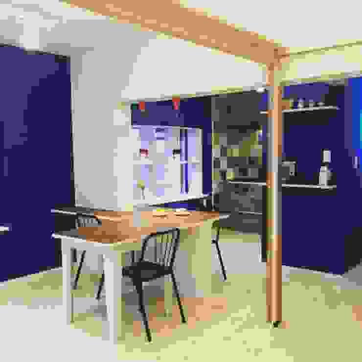 株式会社KIMURA bi-Art Cucina eclettica PVC Blu