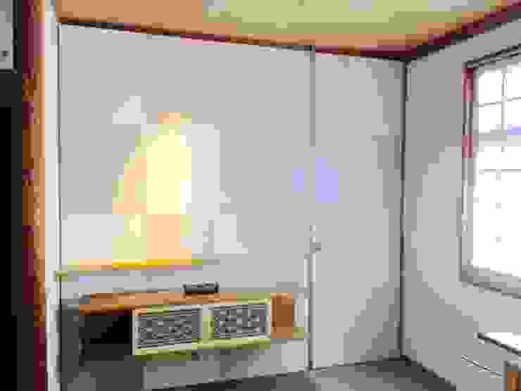 Eclectic walls & floors by 株式会社KIMURA bi-Art Eclectic Wood Wood effect