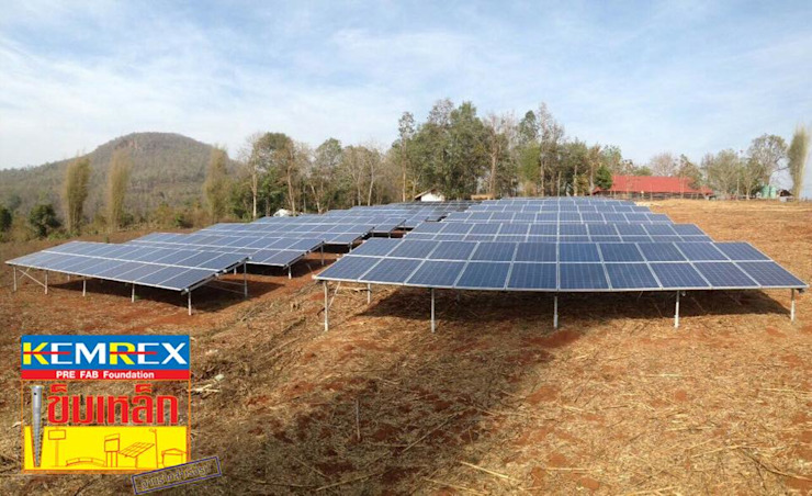 Solar บนดอย จ.แม่ฮ่องสอน โดย บริษัทเข็มเหล็ก จำกัด