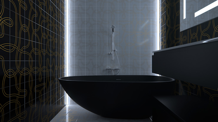 Salle de bain originale par SVPREMVS Éclectique