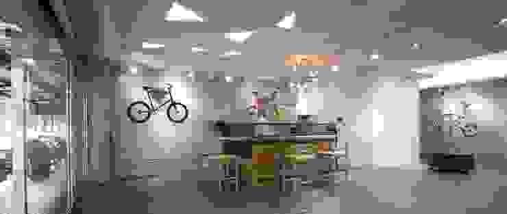 【採用原有磚牆牆面或保留灰色牆面】 根據 衍相室內裝修設計有限公司 工業風
