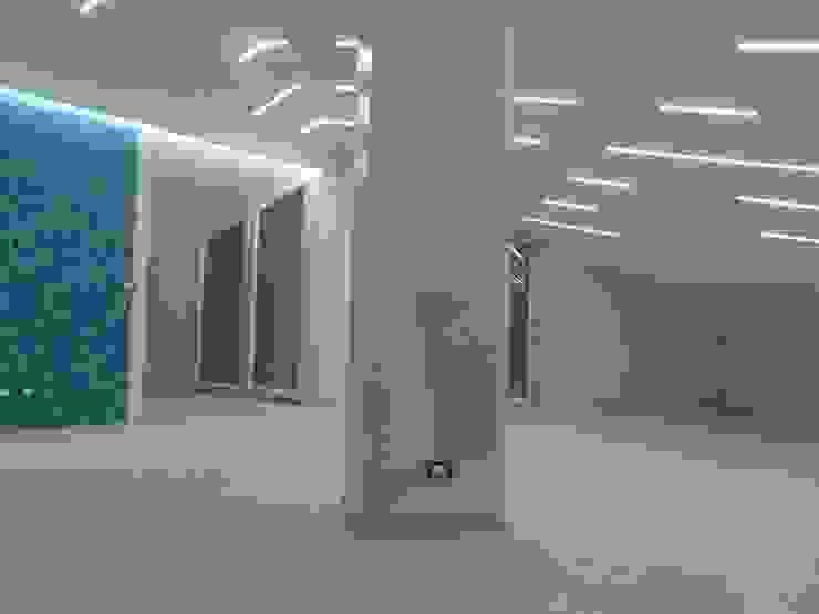 laboratorio di architettura e design Living roomLighting White
