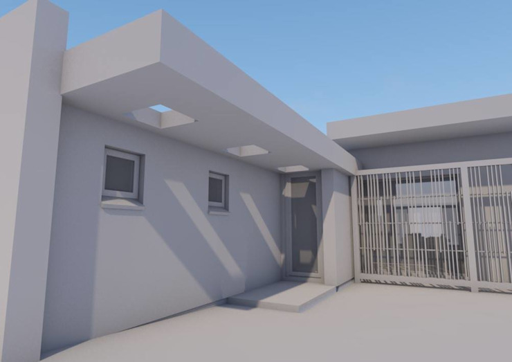 North western front entrance by Seven Stars Developments