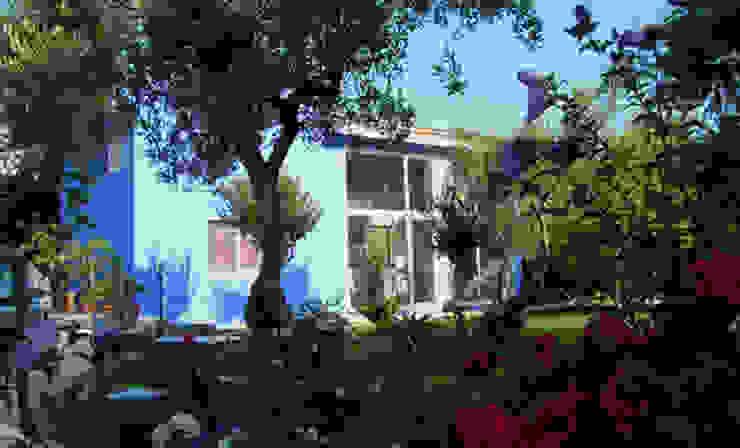 Bed & Breakfast Jacaranda Mediterrane hotels van MEF Architect Mediterraan Beton
