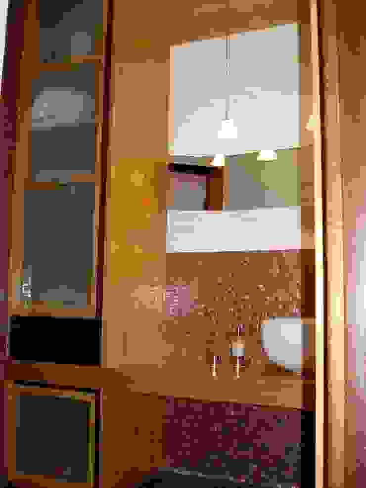 badkamer Moderne badkamers van MEF Architect Modern Hout Hout