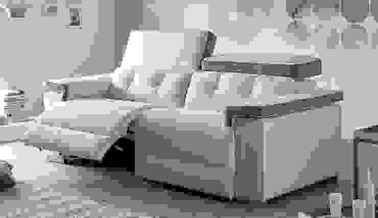 Sofá con relax Acomodel Itlas de Confort Online Moderno