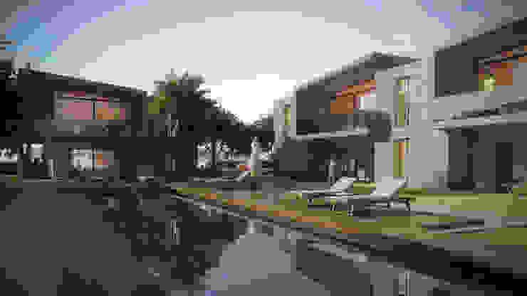 ELIA BLUE Modern Evler Voltaj Tasarım Modern Beton