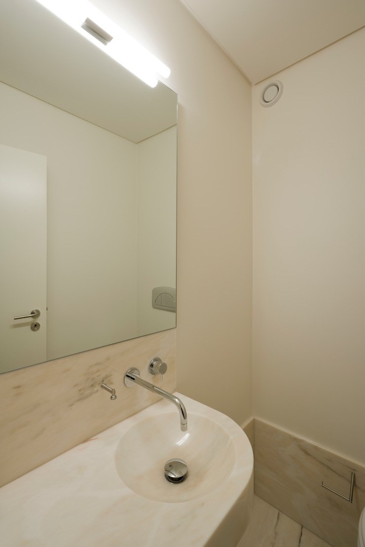 ABPROJECTOS Minimalist bathroom