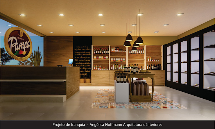 by Angelica Hoffmann Arquitetura e Interiores Country