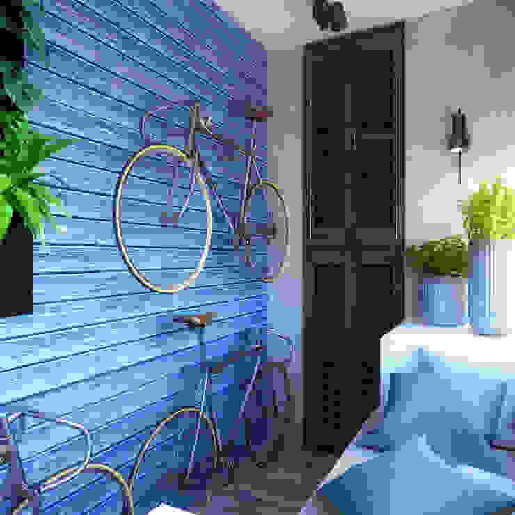 Industrial style balcony, veranda & terrace by homify Industrial