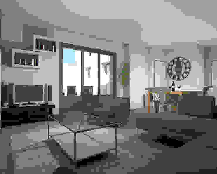 Amenagement Salon Cuisine By Architecture D Interieur Ca Homify