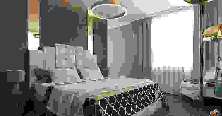 Chambre classique par дизайн-студия PandaDom Classique