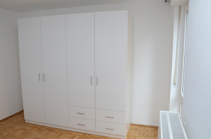schrankwerk.de BedroomWardrobes & closets White