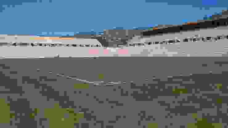 Estadio de Fútbol los Alebrijes Casas modernas de Printemps Moderno