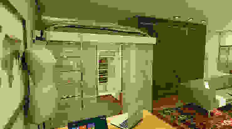 Спальни в . Автор – MQ Design Interiores,