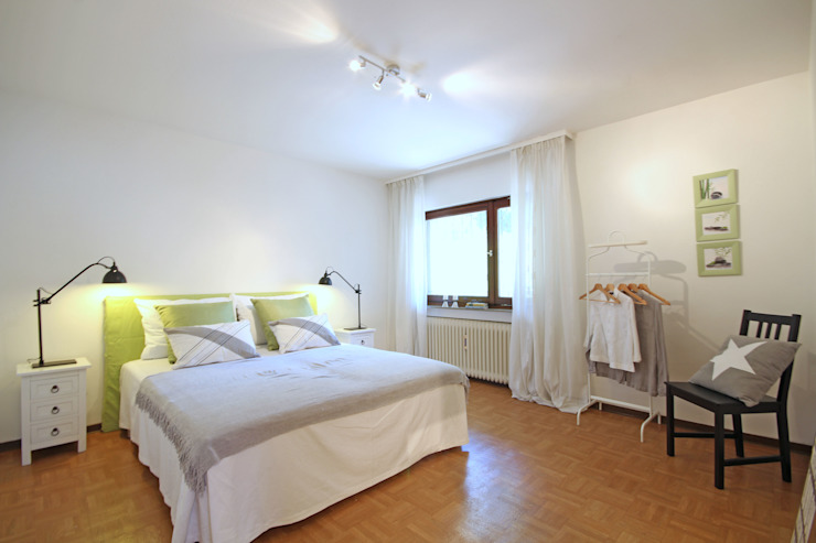 غرفة نوم تنفيذ Birgit Hahn Home Staging