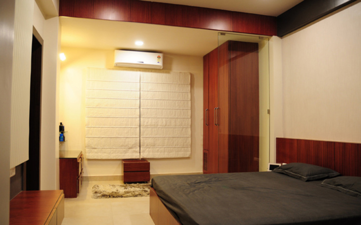 Dormitorios de estilo moderno de Schaffen Amenities Private Limited Moderno