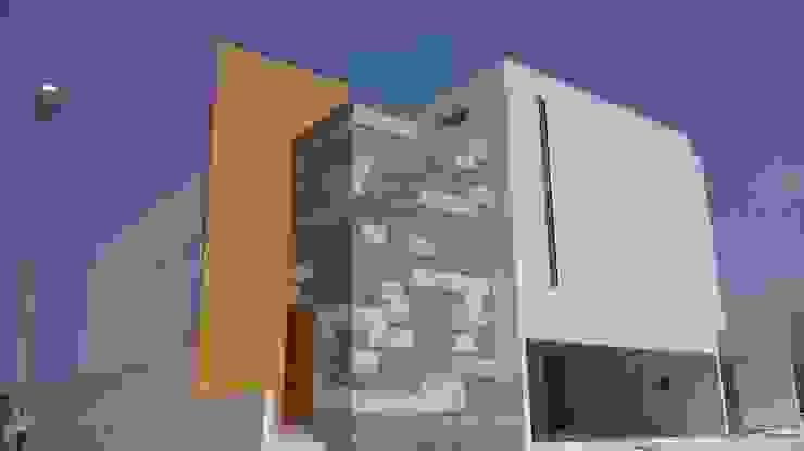 escala1.4 Rumah Modern Batu Kapur Yellow