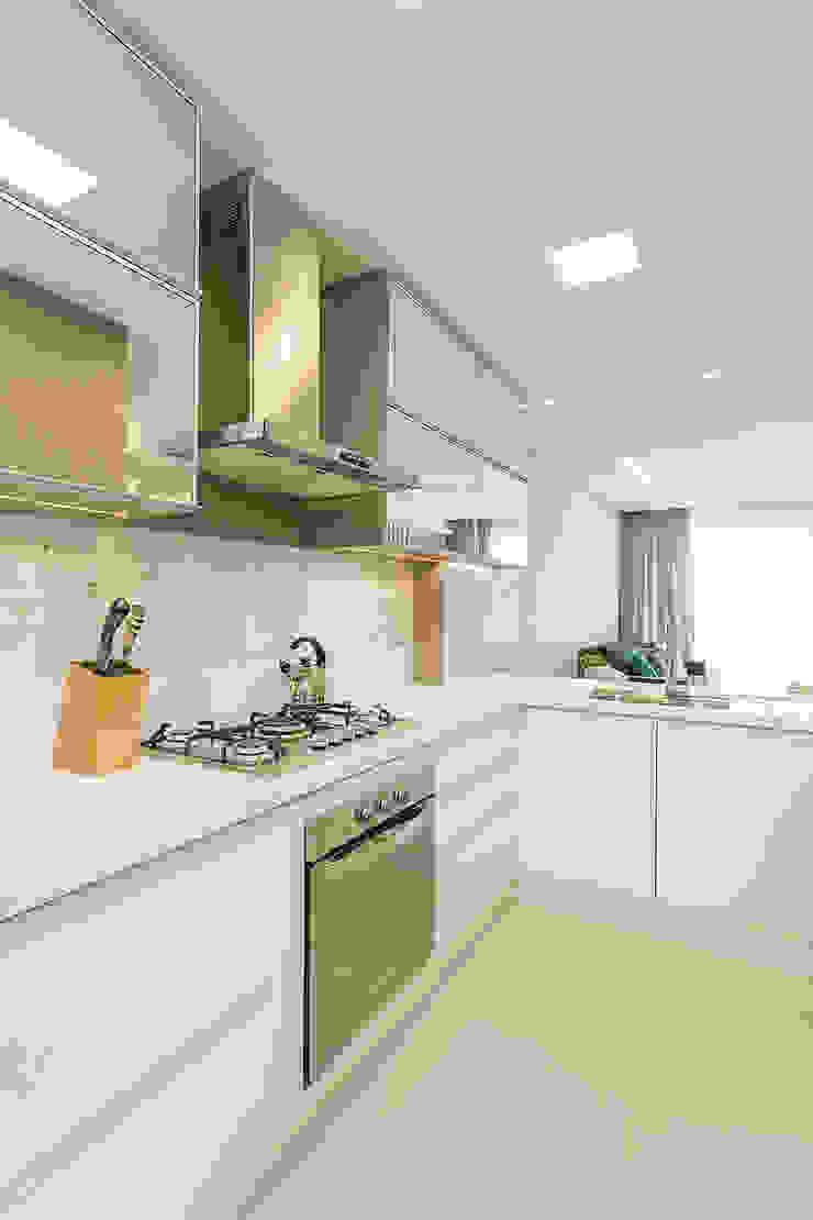 Projeto CV Juliana Agner Arquitetura e Interiores Cozinhas modernas