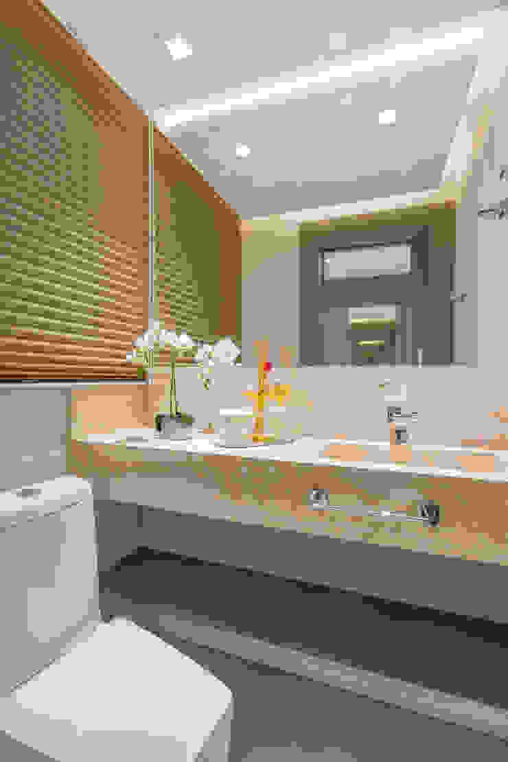Projeto CV Juliana Agner Arquitetura e Interiores Banheiros modernos
