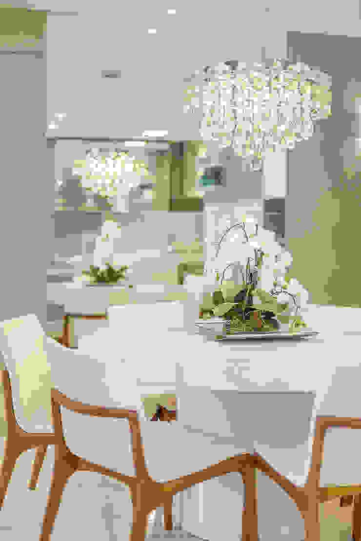 Projeto CV Juliana Agner Arquitetura e Interiores Salas de jantar modernas