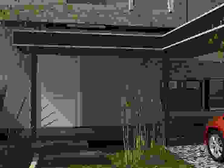 Duplex AB: Casas de estilo  por Arq. Gerardo Rodriguez,Moderno