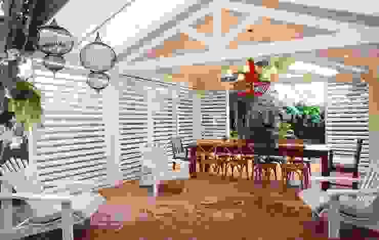 Garajes y galpones de estilo tropical de Studio 262 - arquitetura interiores paisagismo Tropical