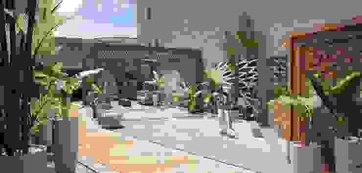 Exterior Spa Spa eclécticos de HMJ Arquitectura Ecléctico