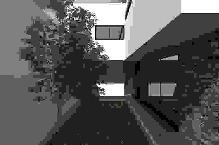 Jardín / Entrada a la casa Jardines modernos de Bloque Arquitectónico Moderno
