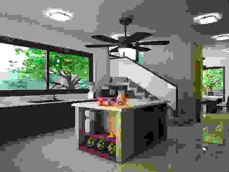 Kitchen by Ecourbanismo, Minimalist