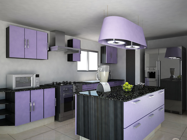 Kitchen by Ecourbanismo,