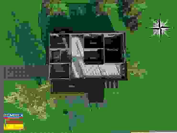 งานฐานรากบ้านโครงสร้างเหล็กสองชั้น พันเอก กลชาญ กมลศุภเชาว์ โดย บริษัทเข็มเหล็ก จำกัด