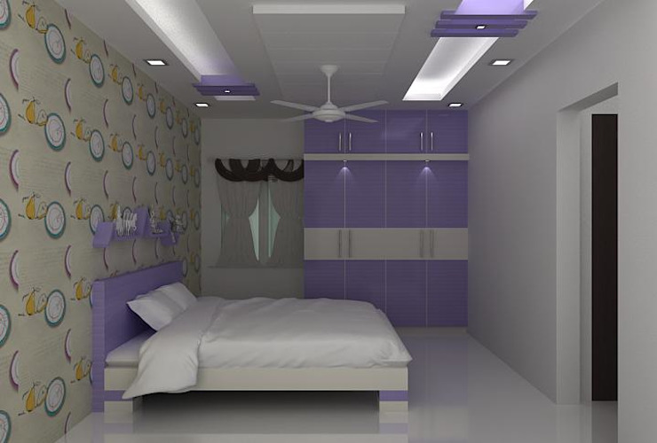 splendid interiors bedroom designs by Splendid Interior & Designers Pvt.Ltd