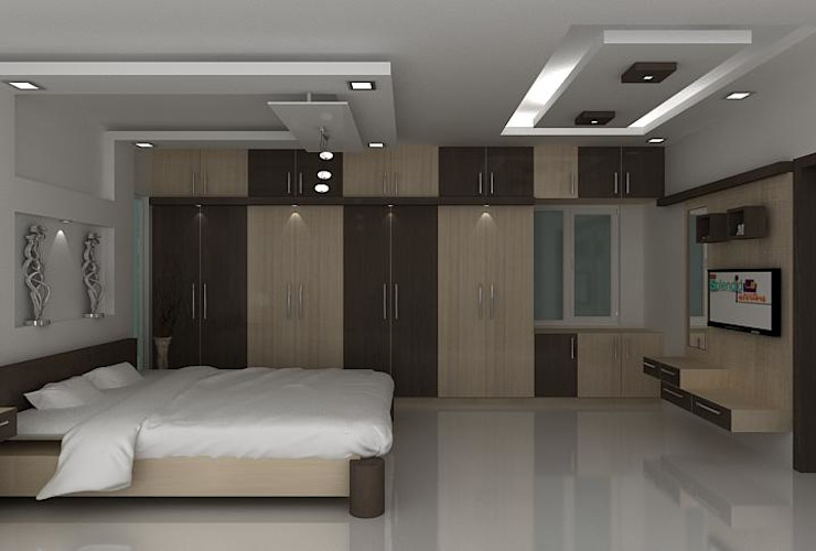 splendid bedroom by Splendid Interior & Designers Pvt.Ltd