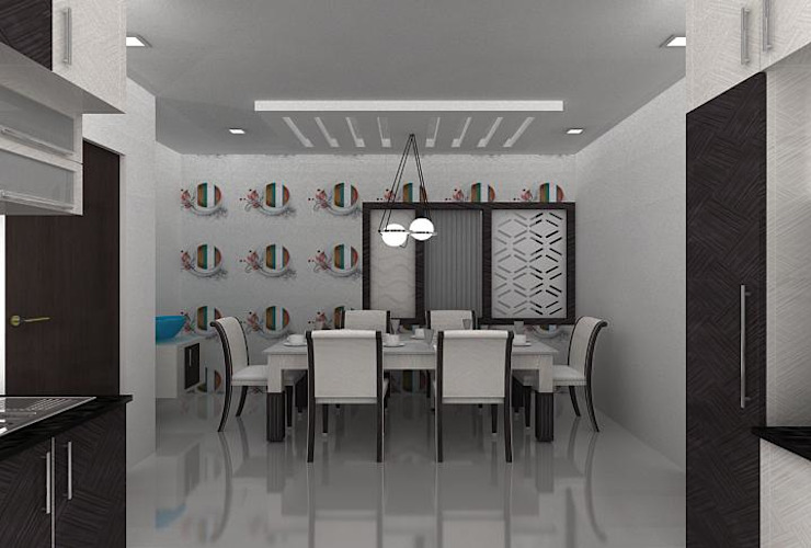 duplex by Splendid Interior & Designers Pvt.Ltd