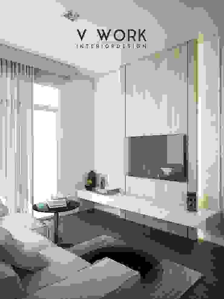 KHUN GRACE RESIDENTIAL. โดย V WORK Interior Design