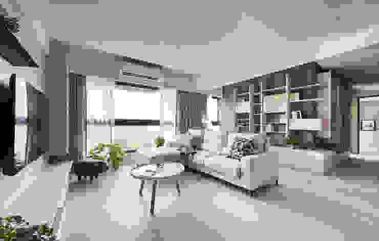 Living room by 思維空間設計  , Minimalist