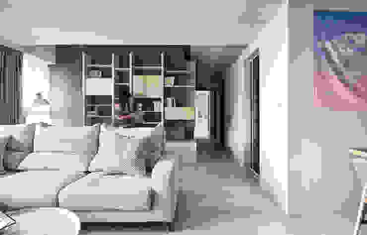 Corridor & hallway by 思維空間設計  , Minimalist