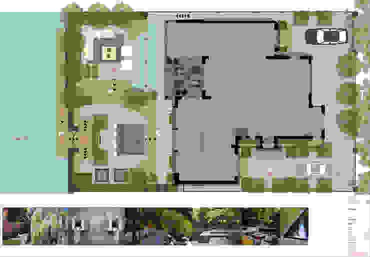 Stadstuin, Amsterdam. Moderne tuinen van Studio-B-Gardens Modern