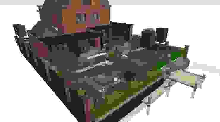 3D Stadstuin, Amsterdam. Moderne tuinen van Studio-B-Gardens Modern