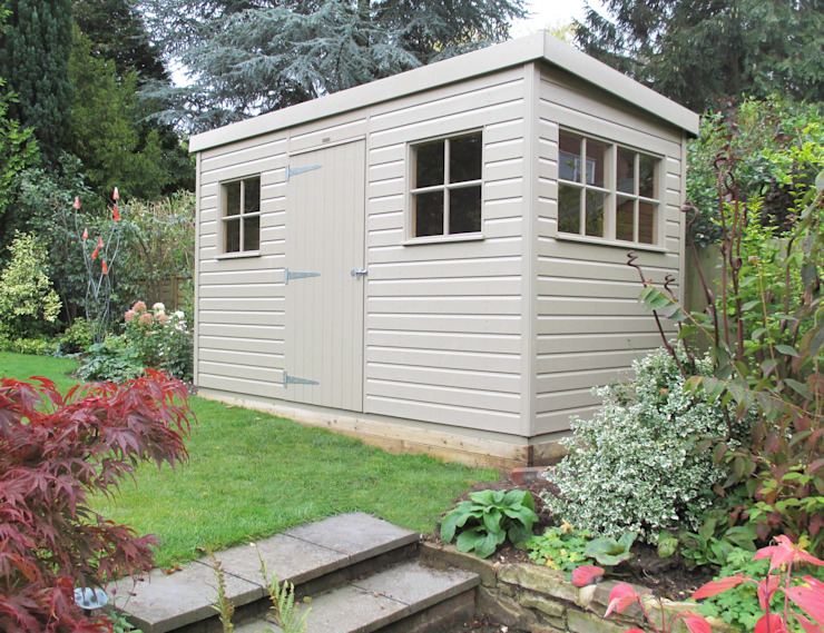 Superior Garden Shed CraneGardenBuildings Garages & sheds