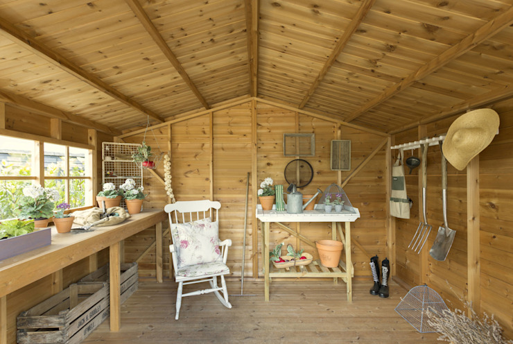 Superior Garden Shed CraneGardenBuildings Garage/Schuppen