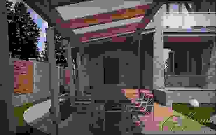Дом с мотивами северо-западной американской архитектуры Компания архитекторов Латышевых 'Мечты сбываются' Дома в колониальном стиле